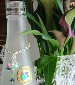 Wine Bottle Necklace