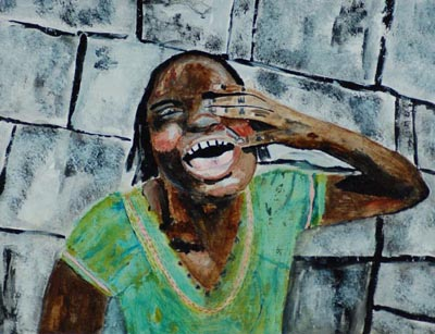 Miz katie - crying haiti girl