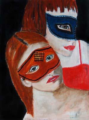 Miz katie - masked magician